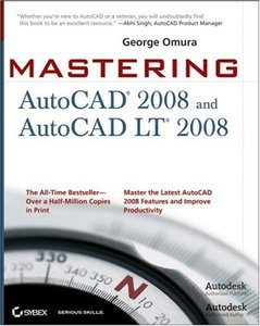 Mastering AutoCAD 2008 and AutoCAD LT 2008 (Paperback)-cover