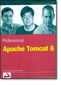 Professional Apache Tomcat 6 (Paperback)-cover