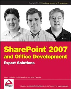 SharePoint 2007 and Office Development Expert Solutions (Paperback)-cover