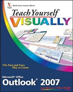 Teach Yourself VISUALLY Outlook 2007 (Paperback)-cover