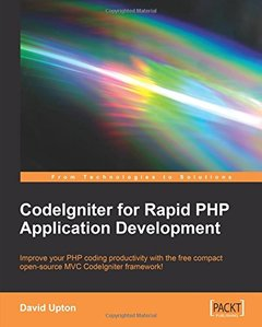 CodeIgniter for Rapid PHP Application Development-cover