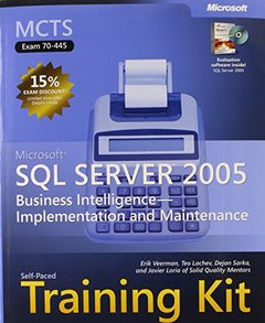 MCTS Self-Paced Training Kit (Exam 70-445): Microsoft  SQL Server 2005 Business Intelligence Implementation and Maintenance (Pro - Certification)-cover