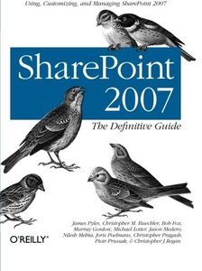 SharePoint 2007: The Definitive Guide (Paperback)-cover