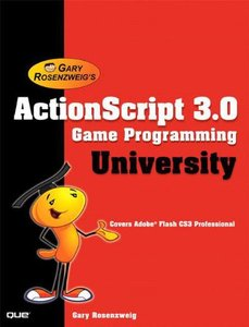 ActionScript 3.0 Game Programming University (Paperback)-cover