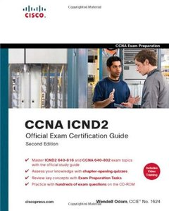 CCNA Official Exam Certification Library (CCNA Exam 640-802), 3/e-cover