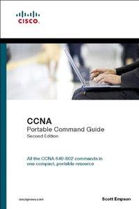 CCNA Portable Command Guide, 2/e (Paperback)-cover