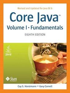 Core Java, Volume I -- Fundamentals, 8/e (Paperback)-cover