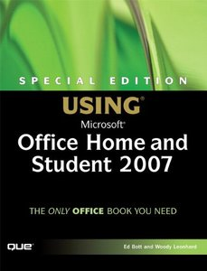 Special Edition Using Microsoft Office Home and Student 2007-cover