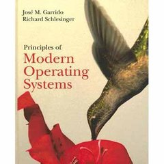 Principles of Modern Operating Systems (Hardcover)-cover