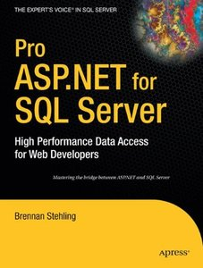 Pro ASP.NET for SQL Server: High Performance Data Access for Web Developers-cover