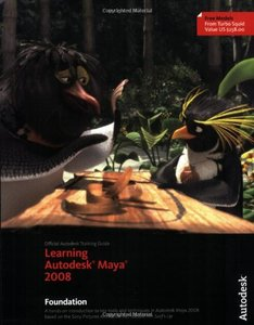 Learning Autodesk Maya 2008: Foundation (Paperback)-cover