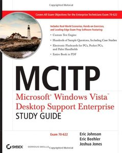 MCITP: Microsoft Windows Vista Desktop Support Enterprise Study Guide: Exam 70-622-cover