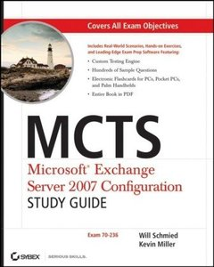 MCTS: Microsoft Exchange Server 2007 Configuration Study Guide (70-236) (Paperback)-cover