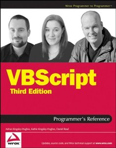 VBScript Programmer's Reference, 3/e (Paperback)-cover