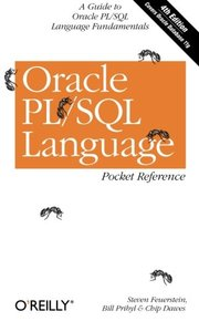 Oracle PL/SQL Language Pocket Reference, 4/e-cover