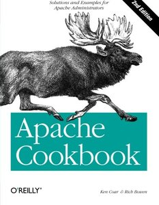 Apache Cookbook: Solutions and Examples for Apache Administration, 2/e-cover