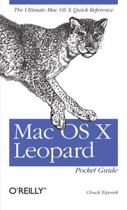 Mac OS X Leopard Pocket Guide (Paperback)-cover