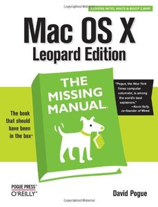 Mac OS X Leopard: The Missing Manual (Paperback)-cover