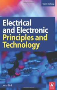 Electrical and Electronic Principles and Technology, 3/e-cover