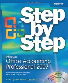 Microsoft Office Accounting Professional 2007 Step by Step-cover
