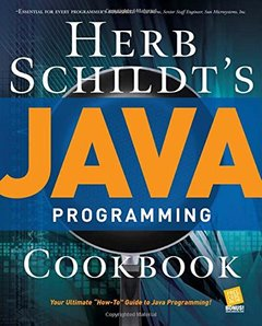 Herb Schildt's Java Programming Cookbook (Paperback)-cover