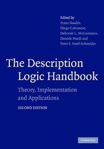 The Description Logic Handbook: Theory, Implementation, and Applications, 2/e (Hardcover)-cover
