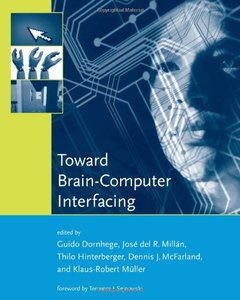 Toward Brain-Computer Interfacing (Hardcover)-cover