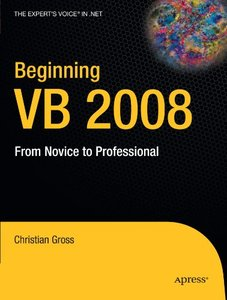 Beginning VB 2008: From Novice to Professional (Paperback)-cover