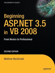 Beginning ASP.NET 3.5 in VB 2008: From Novice to Professional, 2/e-cover