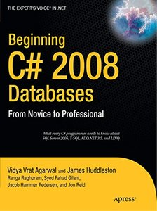 Beginning C# 2008 Databases: From Novice to Professional-cover
