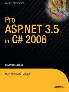 Pro ASP.NET 3.5 in C# 2008, 2/e (Paperback)-cover