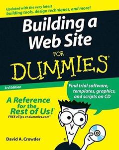 Building a Web Site For Dummies, 3/e-cover