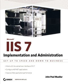 Microsoft IIS 7: Implementation and Administration-cover