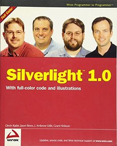 Silverlight 1.0 (Paperback)-cover