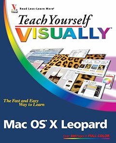 Teach Yourself VISUALLY Mac OS X Leopard (Paperback)-cover