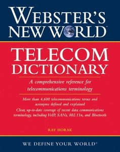 Webster's New World Telecom Dictionary (Paperback)
