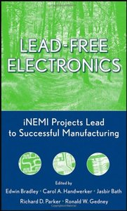 Lead-Free Electronics: iNEMI Projects Lead to Successful Manufacturing-cover
