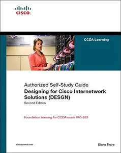 Designing for Cisco Internetwork Solutions (DESGN) (Authorized CCDA Self-Study Guide) (Exam 640-863), 2/e-cover