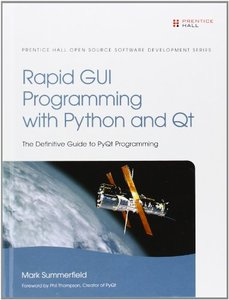Rapid GUI Programming with Python and Qt (Hardcover)-cover