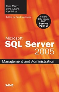 SQL Server 2005 Management and Administration-cover