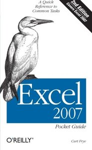 Excel 2007 Pocket Guide, 2/e (Paperback)-cover