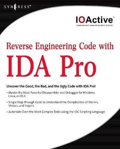 Reverse Engineering Code with IDA Pro-cover