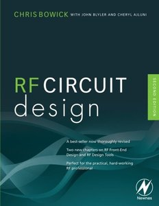 RF Circuit Design, 2/e (Paperback)-cover