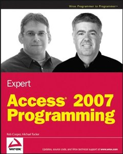 Expert Access 2007 Programming (Paperback)-cover