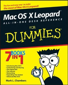 Mac OS X Leopard All-in-One Desk Reference For Dummies (Paperback)-cover