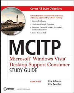 MCITP : Microsoft Windows Vista Desktop Support Consumer Study Guide (70-623) (Paperback)-cover