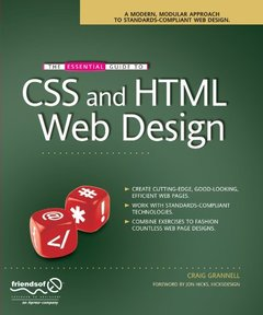 The Essential Guide to CSS and HTML Web Design (Paperback)-cover