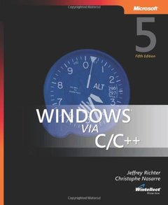 Windows via C/C++, 5/e-cover