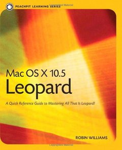 Mac OS X 10.5 Leopard: Peachpit Learning Series (Paperback)-cover
