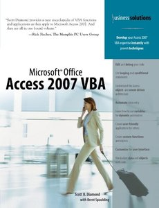Microsoft Office Access 2007 VBA-cover